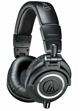 Audio Technica ATH-M50X Pro Studio Monitor Headphones 3-detachable Cables Inc.