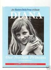 Princess Diana   OUR NORFOLK PRINCESS PHOTOS HARDCOVER BOOK RARE FROM ENGLAND