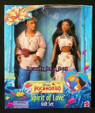 Pocahontas and John Smith Doll Disney Spirit of Love Gift Set Very Rare NRFB