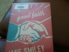 FIRST EDITION Good Faith by Jane Smiley 2003 Hardcover former library copy.Nice!