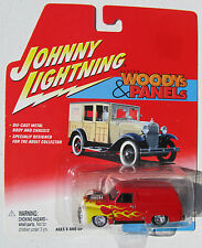 JOHNNY LIGHTNING R1 WOODYs and PANELs '55 FORD PANEL DELIVERY