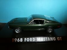 "Ford Mustang  Green  1968 ""Bullitt"" Model Greenlight  New Model 1:43 SCALE"