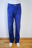 Jacob Cohen Hose aus Baumwolle - Gr . 36 in Blau (Sch)