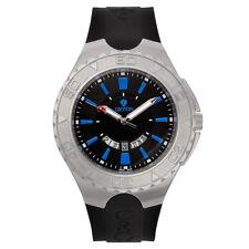 Croton Men's CA301287BSBL Quartz Super C Rotating Bezel Blue Markers 48mm Watch