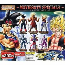 Capsule Toys Gashapon Hg Dragon Ball Z Sp Movies & Tv Specials 6 Pics Set