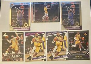 2019 LeBron James + Lakers Lot (30 Cards) - Hoops Premium + Mosaic + Chronicles!