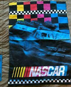 NASCAR 2.5' x 3.5' double sided vertical flag