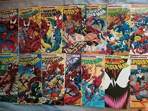 Spiderman Maximum Carnage complete 14 issue set Marvel 1993