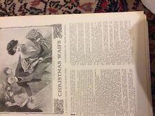 m12g ephemera 1907 short story christmas waifs frank reynolds