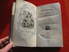 1836 E.T.A. Hoffmann Contes Fantastiques Tome premier