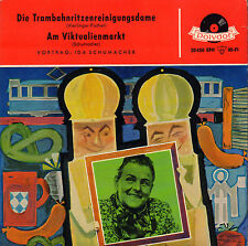 "IDA SCHUMACHER ‎– Die Trambahnritzenreinigungsdame (1968 SINGLE 7"" GERMANY)"
