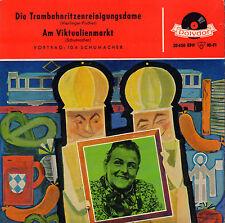 """IDA SCHUMACHER – Die Trambahnritzenreinigungsdame (1968 SINGLE EP 7"""" GERMANY)"""