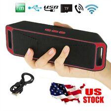Portable Wireless Bluetooth Speaker USB FM Radio Stereo Bass TF USB MP3 Player