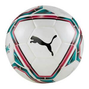 Puma teamFINAL 21 Lite Fußball Trainingsball 350gr. Gr��ße 5 weiß 083314-01
