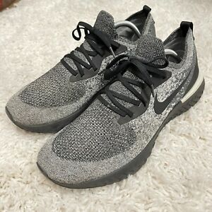 Nike Epic React Flyknit Cookies and Cream Running Shoes AQ0067-011 Men's Size 12