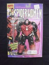 Spider-Woman #7 - Action Figure Variant Cover Vf+ / Nm
