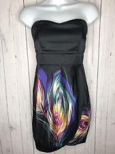 Forever 21 Women's Strapless Dress Black Size Small