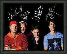 RED HOT CHILLI PEPPERS - A4 SIGNED AUTOGRAPHED PHOTO POSTER  FREE POST