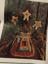Holiday Rustic Rucksack Pieced Quilting Pattern (Thimbleberries,inc.) New! 1995