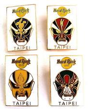 Hard Rock Cafe HRC spilla-Taipei Chinese masks 1997/4 PIN!!! [2092b]