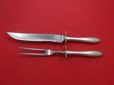 Cynthia Plain by Kirk Sterling Silver Steak Carving Set 2pc