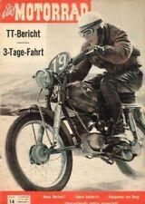 M6014 + Aermacchi 250 ccm Sport + TT-Bericht 1960 + das MOTORRAD 14 vom 9.7.1960