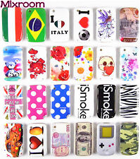 COVER CASE CUSTODIA RIGIDA PER BLACKBERRY CURVE 8520 / 9300 BANDIERA