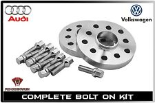2pc 15mm Thick 5x100 / 5x112 57.1mm Bore Fits: Audi and Volkswagen