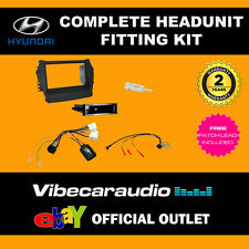 Connects2 CTKHY15 Hyundai Santa Fe 13 on Double Din Stereo Complete Install Kit
