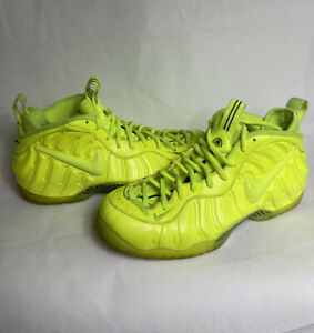 VNDS Nike Air Foamposite Pro Volt Size 12 Yellow 2014