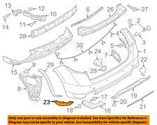 PORSCHE OEM 11-14 Cayenne-Bumper Trim-Reflector Left 95863110500