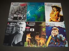 1997 LEICA FOTOGRAFIE INTERNATIONAL MAGAZINE LOT OF 9 - COMPLETE YEAR- R 2H