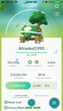 Pokemon Go Legacy Torterra w/ Frenzy Plant (Below 1500 CP for Great League)!