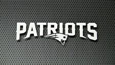 "New England Patriots 7"" Premium Die-Cut Vinyl Decal"