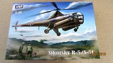 Sikorsky R-5 / S-51 Helicopter (PE parts, film, mask)  1/48 AMP # 48002 NEW!