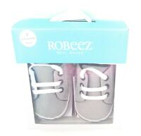 Robeez Newborn Baby Boy Girl Crib Shoes Infant Soft Sole First Step Shoe Booties