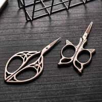 Vintage Stainless Steel Sewing Embroidery Craft Scissor Cutter Home Office DIY