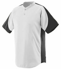 Augusta Sportswear Men's Raglan sleeves Two Button Sports Henley T-Shirt. 1530