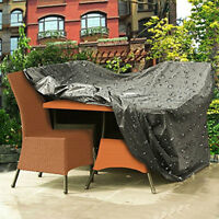 Waterproof Protection Garden Rattan Outdoor Furniture Cover Sofa Patio Table210D