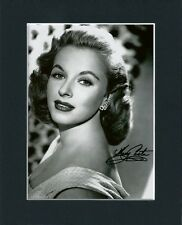 MARY COSTA DISNEY SLEEPING BEAUTY ORIG HAND SIGNED MOUNTED AUTOGRAPH PHOTO + COA