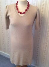 "Ladies Feine Cashmere Dress - Camel - UK XS - 34"""