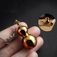 Mini Kürbis Taschenmesser Tragbar Messing Schlüsselbund Anhänger Geschenk Tool