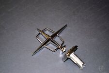 1967 LINCOLN HOOD ORNAMENT 3-PIECE  W/SPRING NEW - NONE FINER FREE SHIPPING