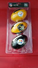 Softee 3 Ball Set of Washington Redskins NFL Mini Soft Footballs &