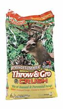 Evolved Harvest Throw & Gro Spring Crush Deer Food Plot Seed Free Shipping