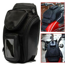 Universal Motorcycle Oil Fuel Tank Bag Magnetic Motorbike Riding Bag Waterproof