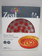 Nouveau zeal chichi silicone sans pie weights for blind baking rouge NB43