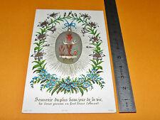 CHROMO 1875 IMAGE PIEUSE CATHOLICISME RELIGION SOUVENIR COMMUNION HOLY CARD