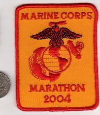 USMC 2004 Marine Corps MARATHON  PATCH Eagle Anchor ega