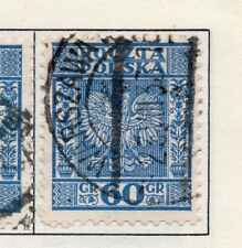 Poland 1929-38 Early Issue Fine Used 60g. 190912